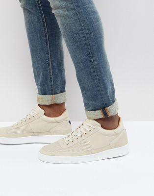 PS Paul Smith - Dizon - Suède sneakers in crème