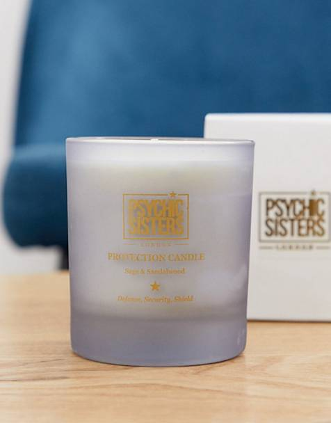 Psychic Sisters protection candle