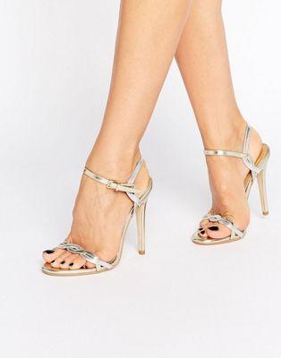 Image 1 of Public Desire Annabelle Twist Heeled Sandals