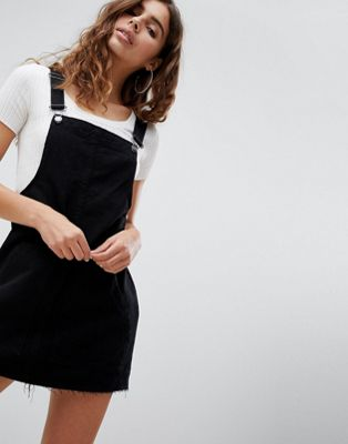 Pull&Bear Classic Dungaree Dress