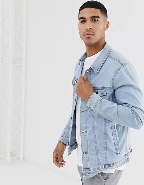 Pull&Bear denim jacket in light blue