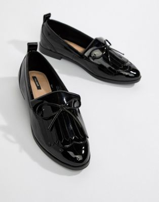 Pull&Bear patent slip on loafer