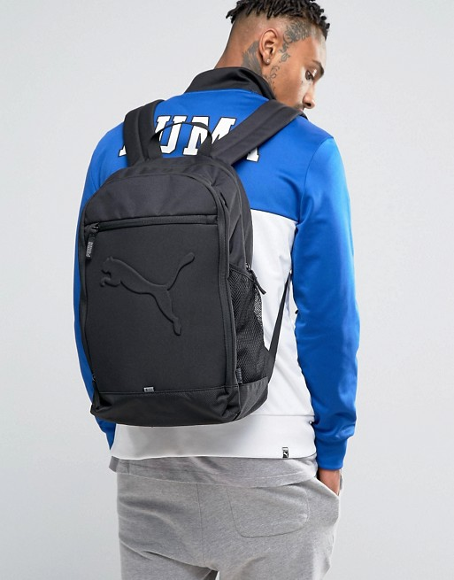 Puma Buzz Backpack In Black 7358101  9047da8fd9c26
