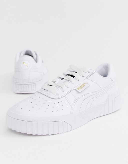 Puma – Cali Triple – Weiße Sneaker