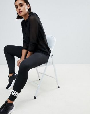 Puma - Essential - Leggings con logo neri