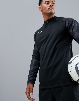 Puma Football NXT Half Zip Sweat In Black 65558201
