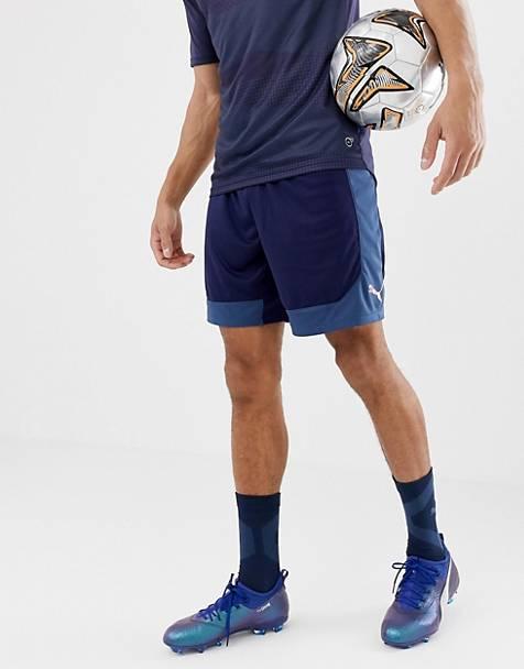 size 40 43f11 ce11d Puma Football - Short- Bleu marine 655787-03