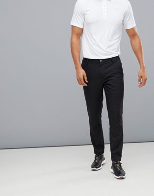 Puma Golf Tailored Tech Pants In Black