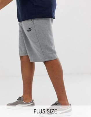 Puma logo shorts in gray