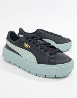 Puma - Platform Trace - Sneakers in blauw