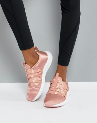 Puma Prowl Alt Satin Training Sneakers In Dusky Pink