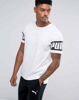 Puma Rebel T-Shirt In White 59245302