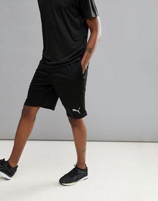 Puma Running Active Tec Stretch 10 Inch Shorts In Black 59507701