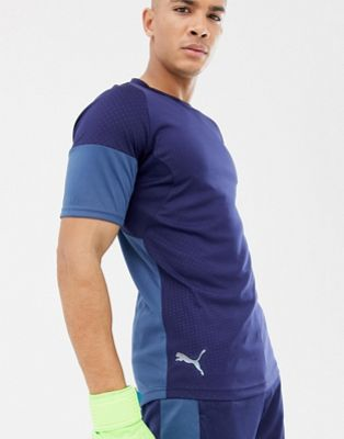 Puma Soccer Graphic T-Shirt In Navy 655783-03