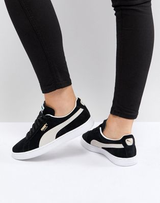 Puma  Suede Classic Trainers In Black