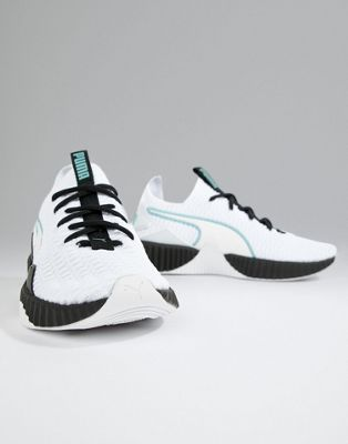 Puma Training Defy Trainers In White