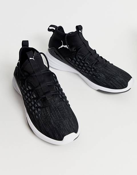 Puma training mantra sneakers in black