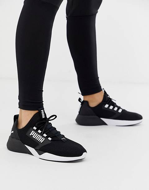 Puma training Retaliate sneakers in black