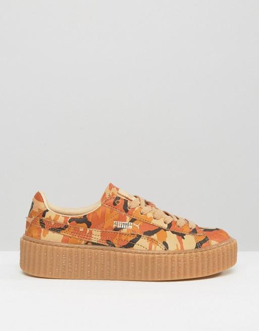 df04d33534f01 Puma X Rihanna Fenty Camo Creeper Sneakers | ASOS