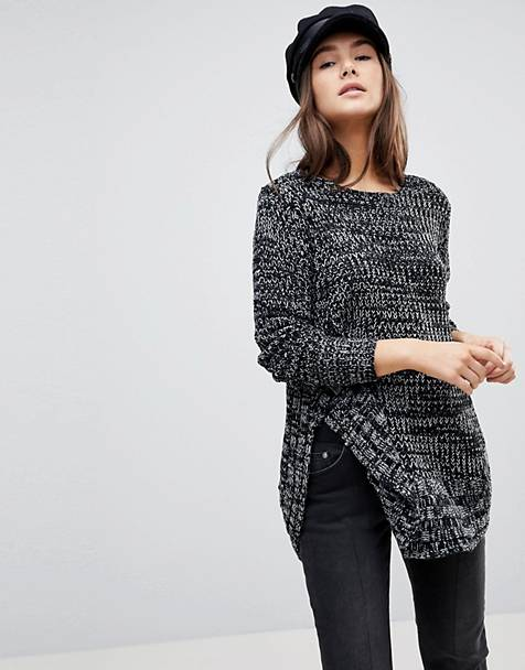 QED London Speckled Knit Sweater