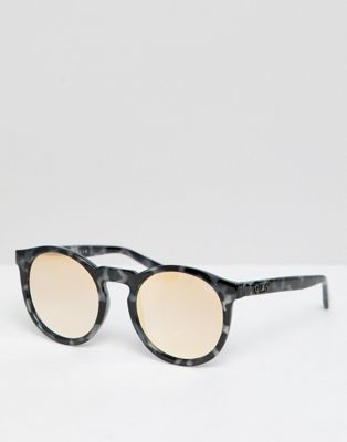 Quay Australia – Kosha Comeback – Runde Sonnenbrille in Schildplatt & Gold