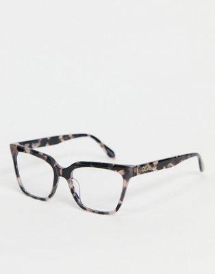 Quay Noosa Bevel womens cat eye sunglasses in black - ASOS Price Checker