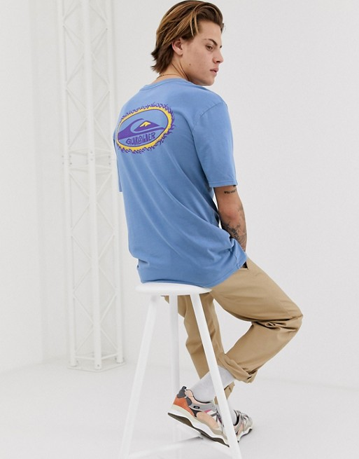 Quiksilver Furball T Shirt In Blue by Quiksilver