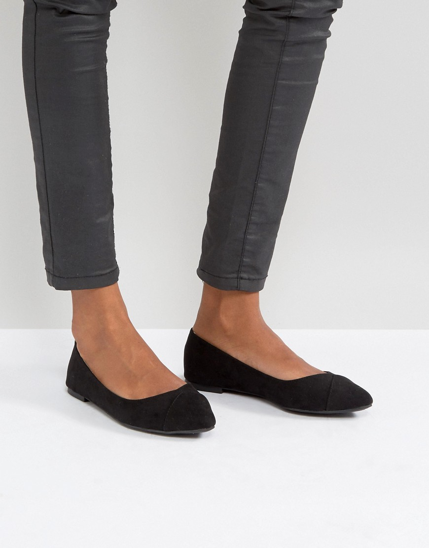 Shoes by Qupid Faux-suede upper Slip-on style Pointed toe Wipe with a damp cloth 100% Textile Upper