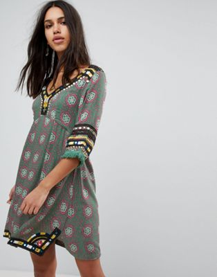 Raga Elena Printed Tunic Dress