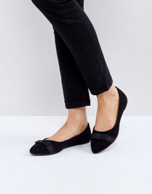 RAID Bow Point Ballet Shoes
