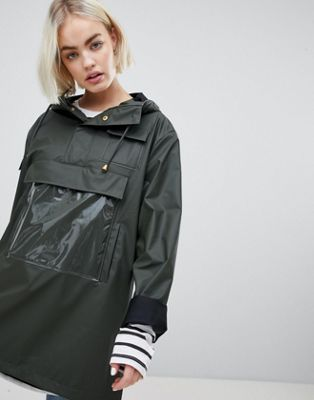 Rains High Shine Camp Anorak