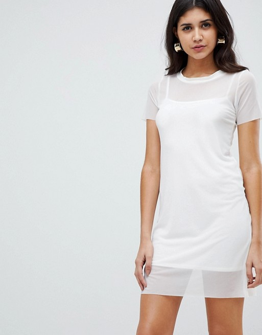 Rare London insert t-shirt dress