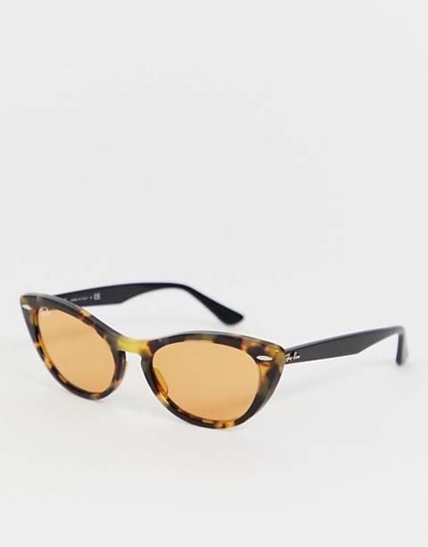 Ray-Ban 0RB4314N cat eye sunglasses in tort