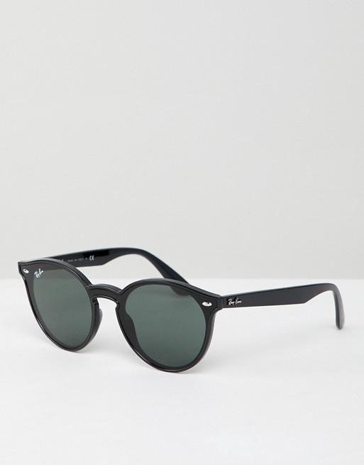 Ray-Ban 0RB4380 round sunglasses