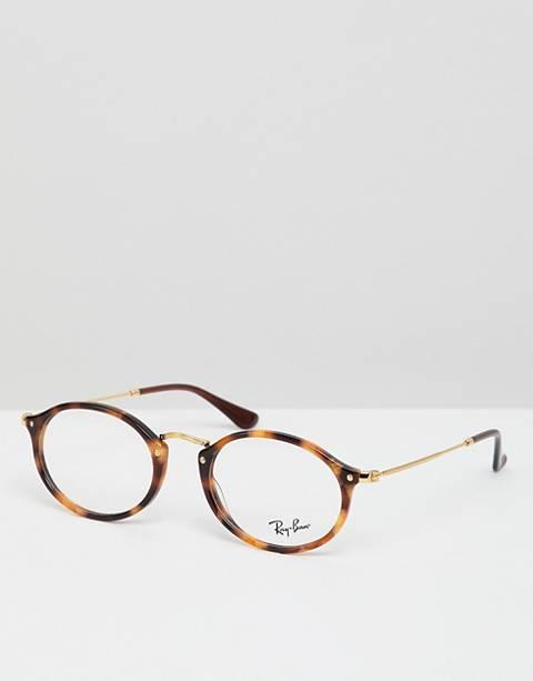 Ray-Ban – 0RX2547V – Rundes Brillengestell mit Demo-Gläsern