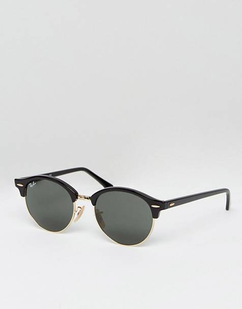 Ray-Ban Clubmaster round sunglasses 0rb4246