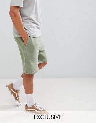 Afbeelding 1 van Reclaimed Vintage Inspired - Over-dye short in kaki