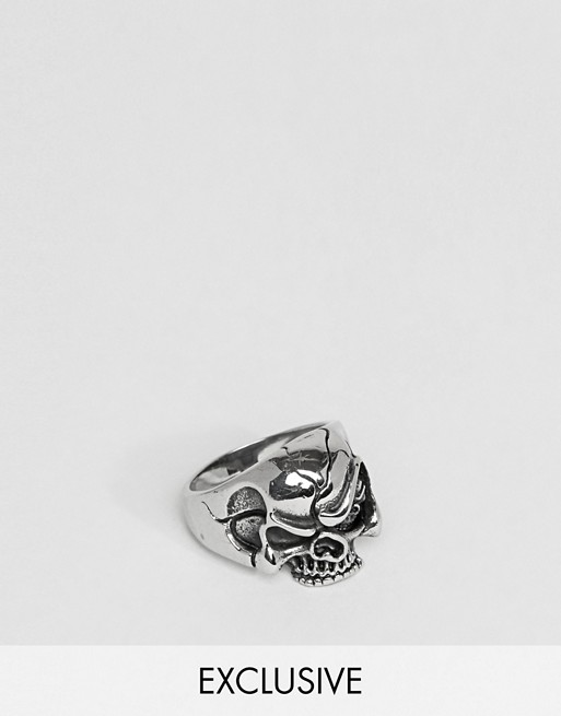 Reclaimed Vintage Inspired Skull Ring