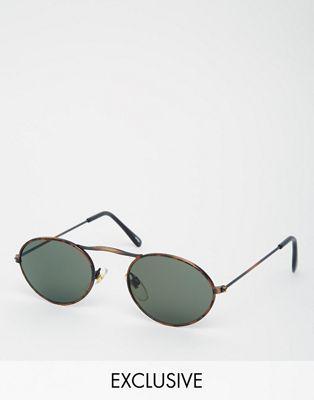 Bild 1 von Reclaimed Vintage – Runde Sonnenbrille