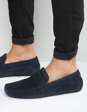 Footlocker For Sale Low Price Online Mens Suedette Driver Moccasins New Look Cheap Sale 2018 New Official Cheap Price R1gRVb