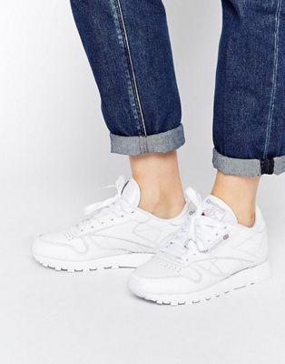 Reebok Classic - Sneakers in wit leer