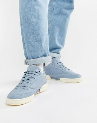 Image 1 of Reebok Club C 85 CLD Sneakers In Blue BS9732