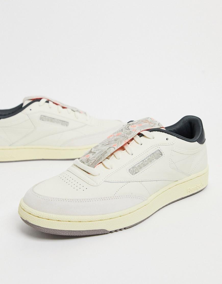 Reebok - Club C 85 - Sneakers i klassisk hvid