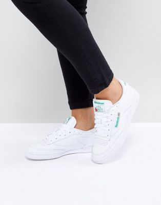 Reebok Club C 85 Trainers In White