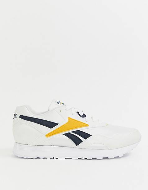 outlet store 2c464 134d3 Reebok Rapide trainers in white