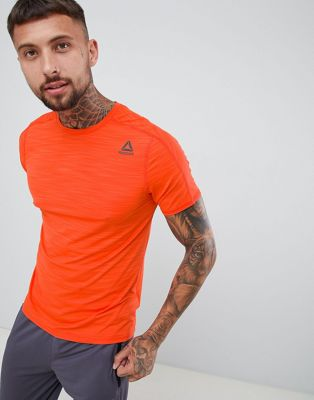 Reebok Training Activchill Move T-Shirt In Orange D93747
