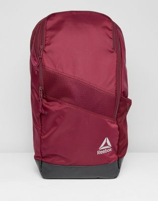 Reebok Training Active Enhanced 24L Backpack In Red CZ9800