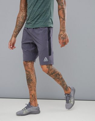 Reebok Training - Geweven short in zwart CE3877