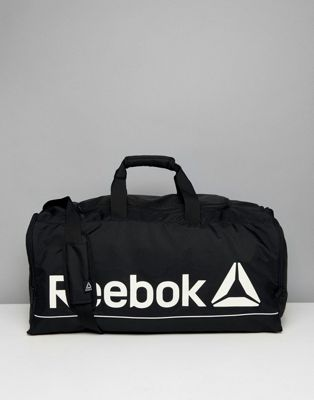 Reebok Training Medium Carryall In Black CE0914