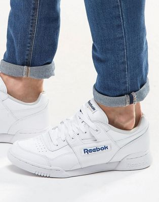 Reebok - Workout Plus - Sneakers in wit 2759